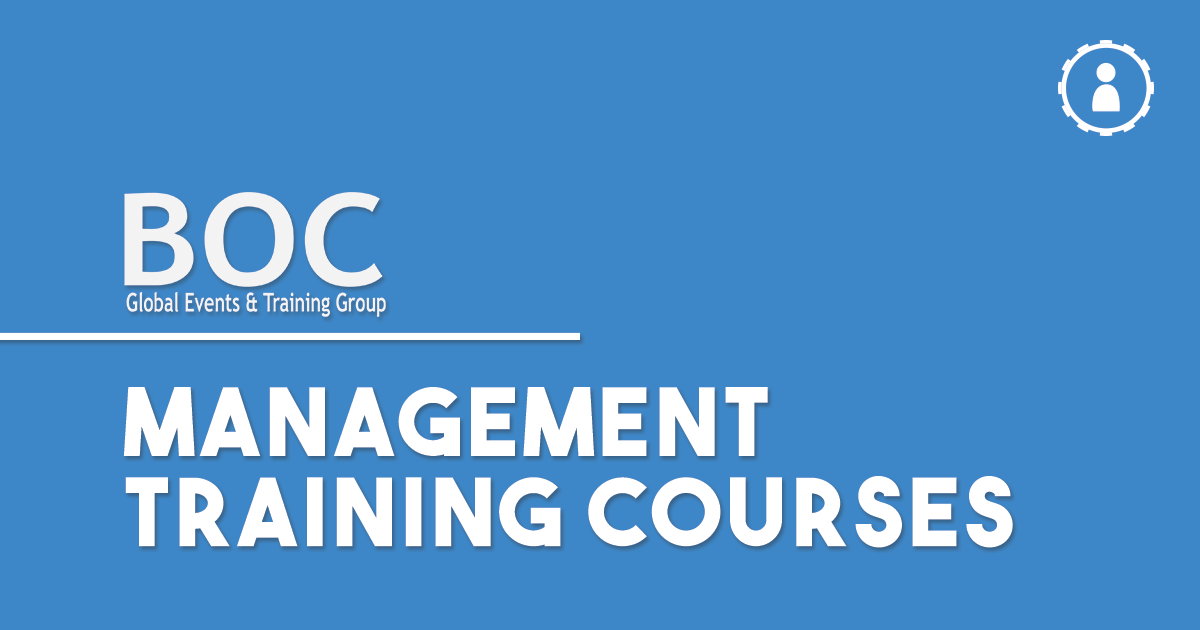 corporate management training courses london