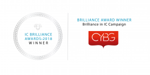 IC Brilliance Awards 2018 - Winner - CYBG PLC