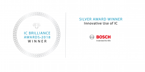 IC Brilliance Awards Winner 2018 - Robert Bosch GmbH