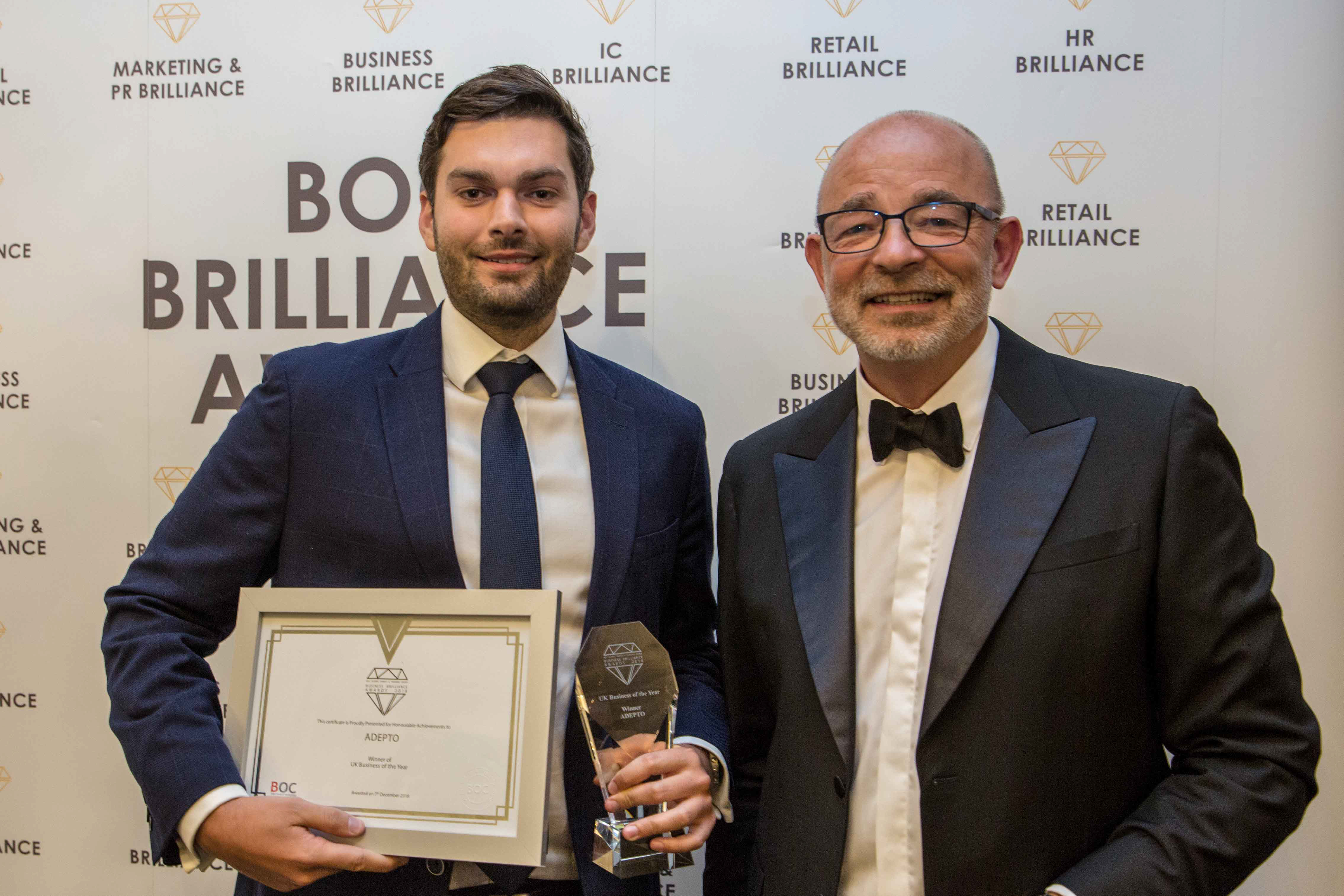 Adepto - Business bRilliance Awards 2018