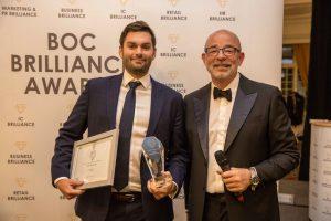Chris Milligan - Business Brilliance Awards 2018